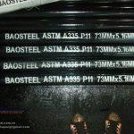 Ống thép đúc hợp kim ASTM A335 P11